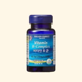 [공식 홀랜드앤바렛] 비타민 B 콤플렉스 (250정/8개월분)