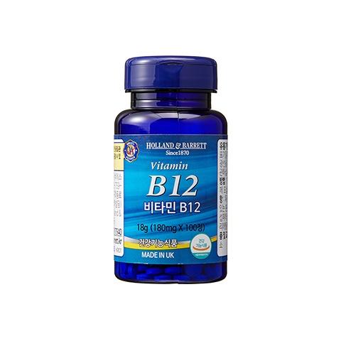 [공식 홀랜드앤바렛] 비타민 B12 (100정/100일분)