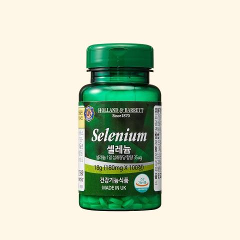 [공식 홀랜드앤바렛] 셀레늄 (100정/100일분)