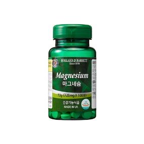 [공식 홀랜드앤바렛] 마그네슘 (100정/100일분)