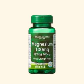 [공식 홀랜드앤바렛] 마그네슘-100 100정