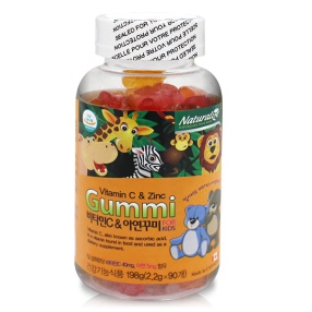 [네추럴라이즈] 비타민C & 아연 꾸미 포 키즈