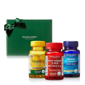 활력투게더 세트(멀티비타민&철60/비타민D100/비타민B군90)